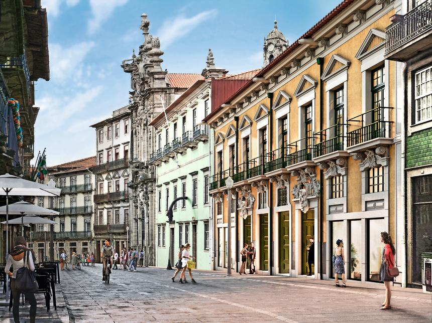Portugal - Porto - Hôtel PortoBay Flores 5*